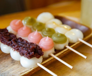 food, dango, and sweet image