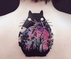 totoro and tattoo image