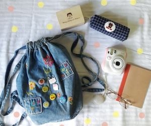 aesthetic, backpack, and cool image