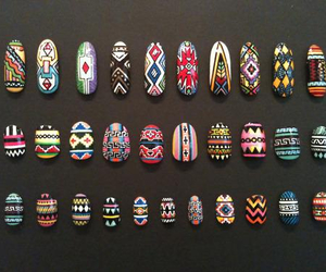 aztec, nails, and sick image