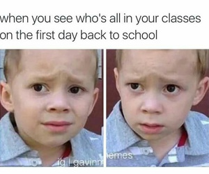 classes, funny, and people image