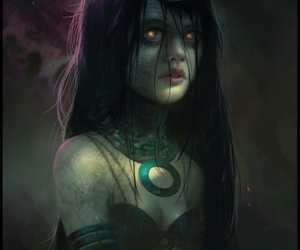 suicide squad, enchantress, and art image