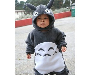 totoro, baby, and kids image