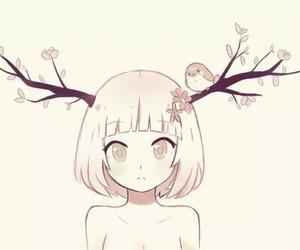 anime, bird, and kawaii image