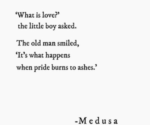 medusa, pride, and quotes image