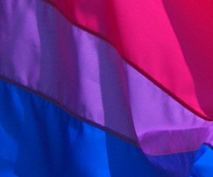 bi, flag, and bi pride image