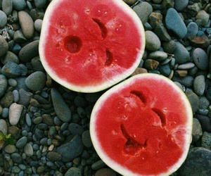watermelon, summer, and cute image