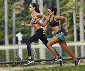 fitness and running image