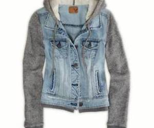 jacket, jeans, and sweater image