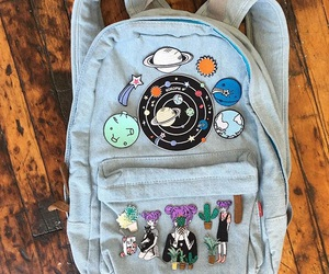 bag, tumblr, and backpack image