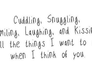 cuddling, snuggling, and happy image