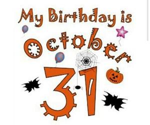 birthday, fall, and Halloween image