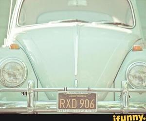 car, vintage, and pastel image