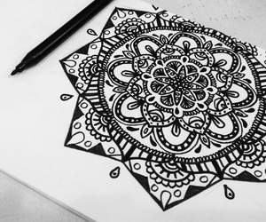 art, simple, and black image