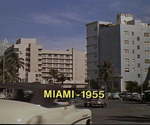 Miami, vintage, and theme image