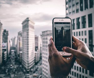 photography, city, and iphone image