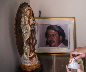 cocaine, colombia, and pablo escobar image