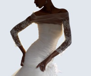 fashion, couture gowns, and wedding dress image
