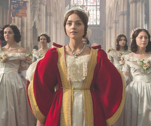 doctor who, victoria, and jenna coleman image