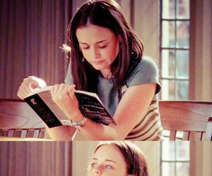 alexis bledel, bookworm, and gilmore girls image