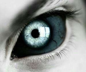 eye, eyes, and demon image