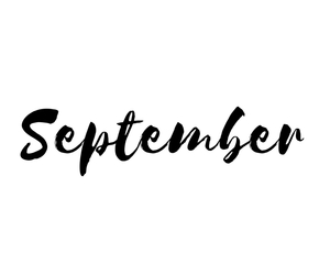 September, autumn, and black image
