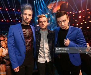 twenty one pilots, josh hutcherson, and tyler joseph image