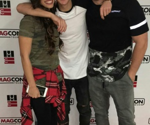 cameron dallas, magcon, and sierra dallas image