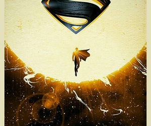 superman, wallpaper, and man of steel image