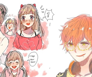 mystic messenger, anime, and Mc image