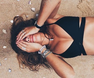 beach, body, and beauty image