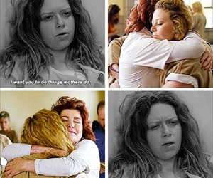 red, orange is the new black, and oitnb image