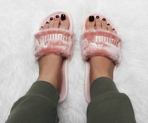 cool, pink, and shoes image