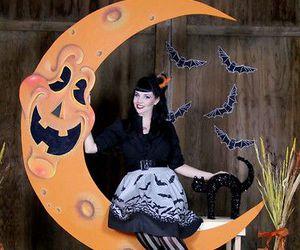 bats, diy, and spooky night image