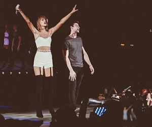 Taylor Swift and shawn mendes image