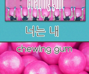 chewing gum, kpop, and mark image