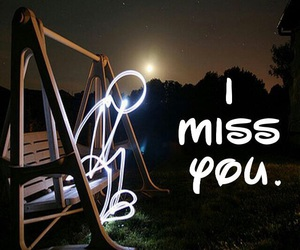 sad, miss, and i miss you image