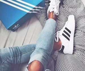 adidas, shoes, and shows image