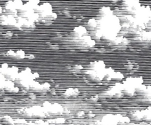aesthetic, wallpaper, and black and white image