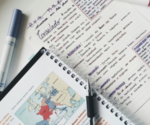 handwriting and study image