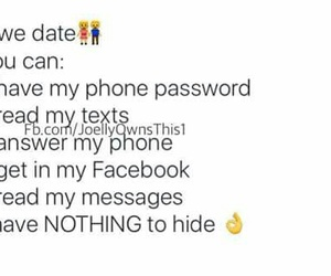 couples, date, and messages image