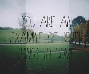 quote, text, and example image