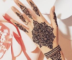 fashion, stylish love, and henna henne mehndi image