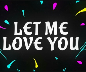 justin bieber and let me love you image