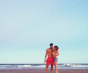 beach, couple, and everything image