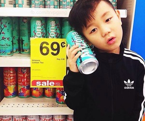 kids, asian, and adidas image