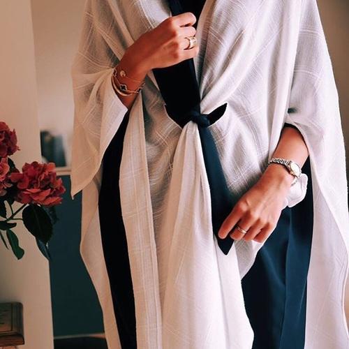abaya, arabic, and arab image