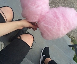 alternative, cotton candy, and indie image