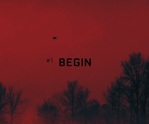 bts, begin, and red image