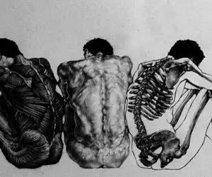 art, body, and grunge image